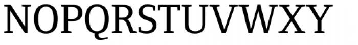 Foundry Form Serif Medium Font UPPERCASE