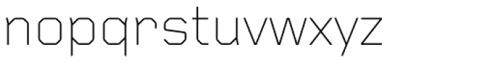 Foundry Gridnik Light Font LOWERCASE