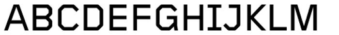 Foundry Gridnik Medium Font UPPERCASE