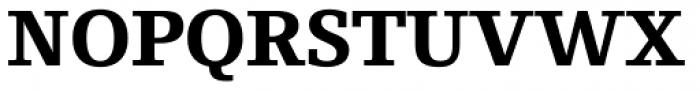 Foundry Origin ExtraBold Font UPPERCASE