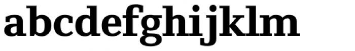 Foundry Origin ExtraBold Font LOWERCASE