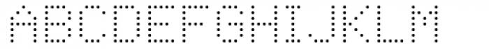 Foundry Plek Light Font UPPERCASE