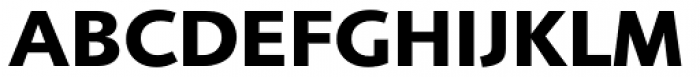 Foundry Sans Bold Font UPPERCASE