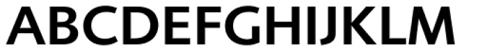 Foundry Sans Demi Font UPPERCASE
