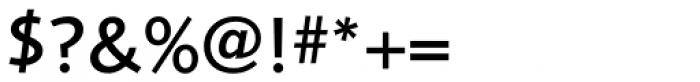 Foundry Sans Medium Font OTHER CHARS