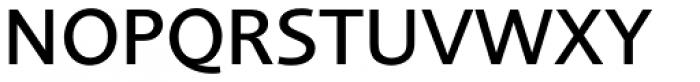 Foundry Sans Medium Font UPPERCASE