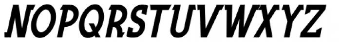 Fountain Service Oblique JNL Font UPPERCASE