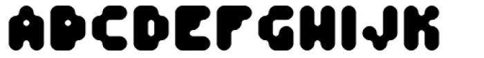 Fourforty ExtraBold Font UPPERCASE