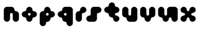 Fourforty ExtraBold Font LOWERCASE