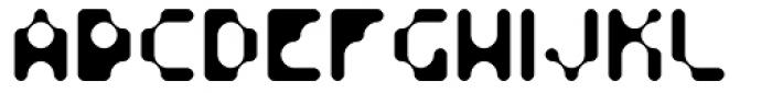Fourforty Light Font UPPERCASE