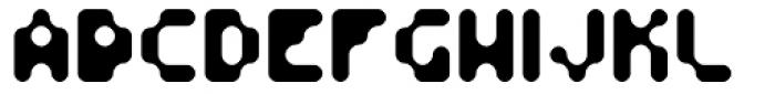 Fourforty Regular Font UPPERCASE