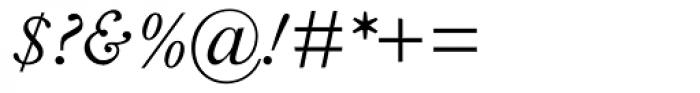 Fournier MT Italic Tall Caps Font OTHER CHARS