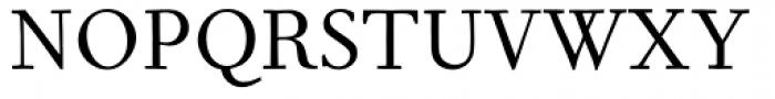Fournier MT Regular Tall Caps Font UPPERCASE