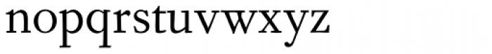 Fournier MT Std Regular Font LOWERCASE