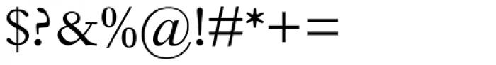 Fournier Pro Regular Font OTHER CHARS