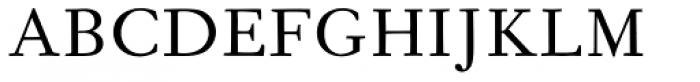 Fournier Pro Regular Font UPPERCASE