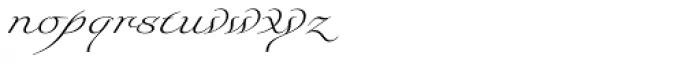 Foverdis Light Font LOWERCASE