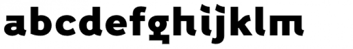 Fox Grotesque Alt Black Font LOWERCASE