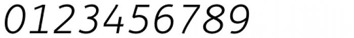 Fox Sans Pro Light Italic Font OTHER CHARS