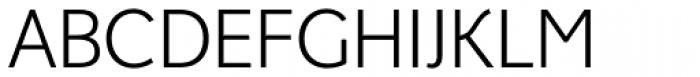 Fox Sans Pro Light Font UPPERCASE