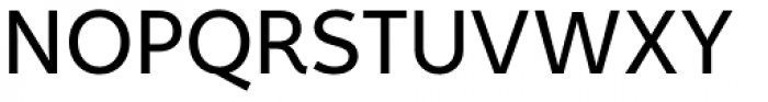 Fox Sans Pro Font UPPERCASE