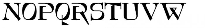 Foxcroft NF Font UPPERCASE