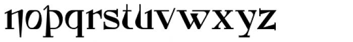 Foxcroft NF Font LOWERCASE