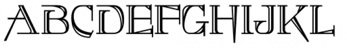 Foxcroft Shaded NF Font UPPERCASE