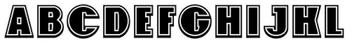 Foxxy 3D Font UPPERCASE