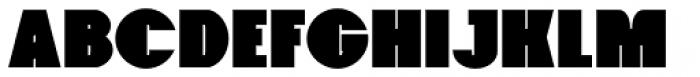 Foxxy Black Font UPPERCASE