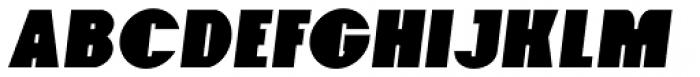 Foxxy Italic Font UPPERCASE