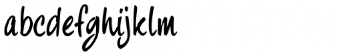 fourHand Font LOWERCASE