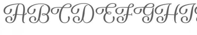 Forgiven Font UPPERCASE