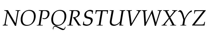 FPL Neu Italic Font UPPERCASE