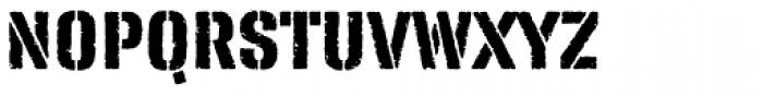 FP Fragile Font UPPERCASE