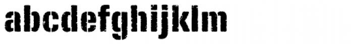 FP Fragile Font LOWERCASE