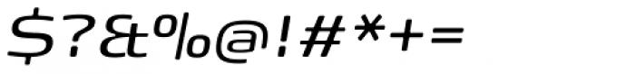 FP Head Pro Italic Light Font OTHER CHARS