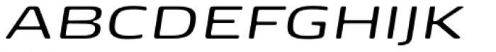 FP Head Pro Italic Light Font UPPERCASE