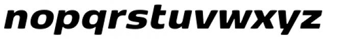 FP København Sans Black Italic Font LOWERCASE