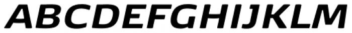 FP København Sans Extra Bold Italic Font UPPERCASE