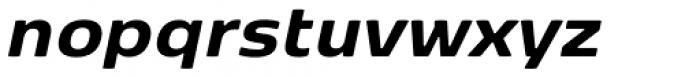 FP København Sans Extra Bold Italic Font LOWERCASE