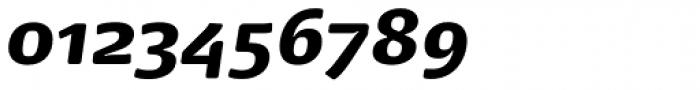 FPDancer Serif Black Italic Font OTHER CHARS