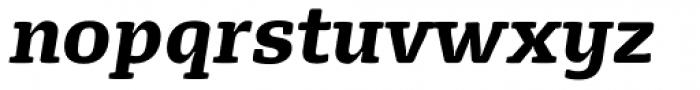 FPDancer Serif Black Italic Font LOWERCASE