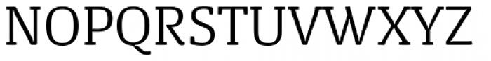 FPDancer Serif Light Font UPPERCASE