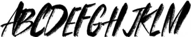 FRANCES-BRUSH-01 Regular otf (400) Font UPPERCASE