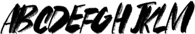 FRANCES-BRUSH-02 Regular otf (400) Font UPPERCASE