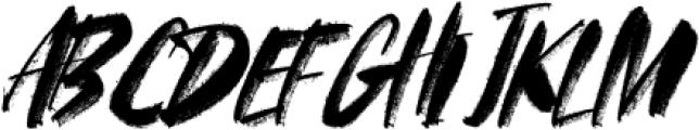 FRANCES-BRUSH-03 Regular otf (400) Font UPPERCASE