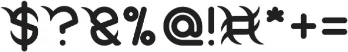 FRANKENSTEIN MONSTER otf (400) Font OTHER CHARS