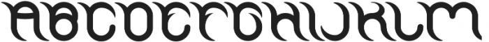 FRANKENSTEIN MONSTER otf (400) Font UPPERCASE