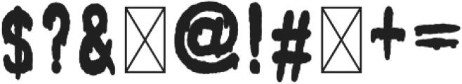 FREAK SHOW GOBLIN otf (400) Font OTHER CHARS